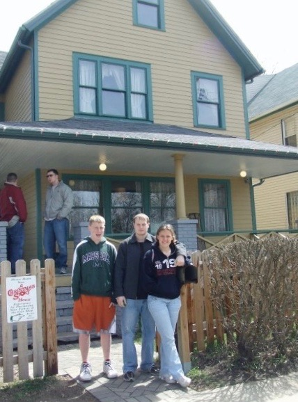 At Ralphie's house/Ohio (Christmas Story)