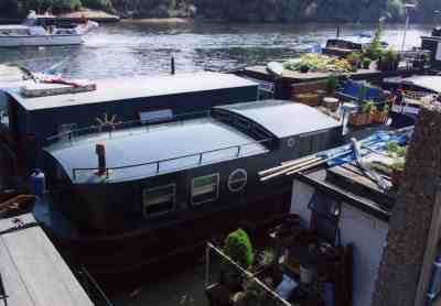 My houseboat